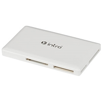 Картридер Cardreader Intro slim R502 card reader (ivory/Black)